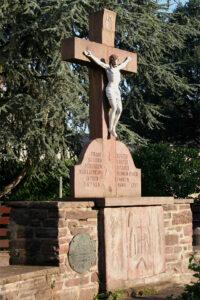 Lüchtringer Kreuz an der Friedenseiche