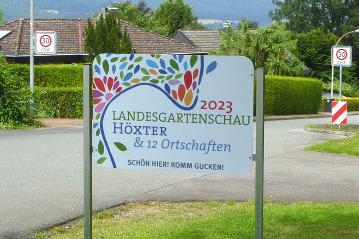Lüchtringen - Landesgartenschau in Höxter und 12 Ortschaften